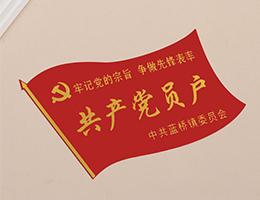 定做金shu铝制党yuan家庭men牌
