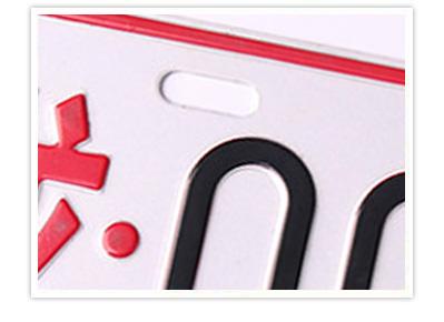 四轮电动车标牌的细节个性化设计