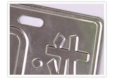 四轮电动车标牌的细节优质材料